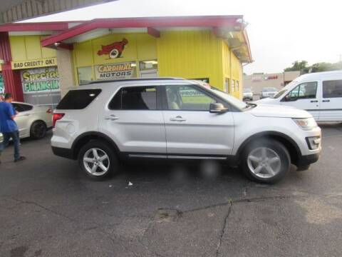 2016 Ford Explorer for sale at Cardinal Motors in Fairfield OH