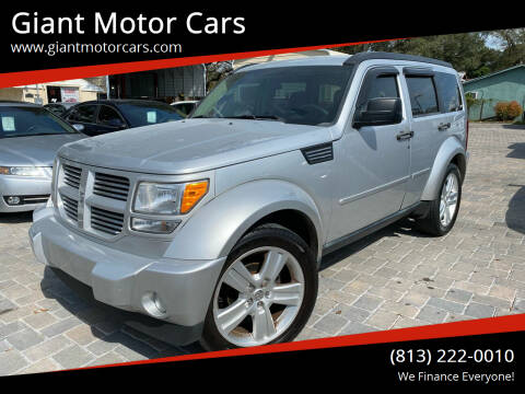 2011 Dodge Nitro for sale at Giant Motor Cars in Tampa FL