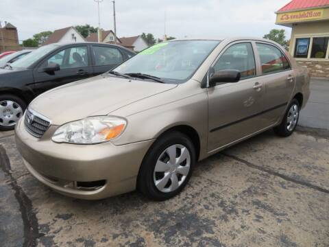 2007 Toyota Corolla for sale at Bells Auto Sales in Hammond IN