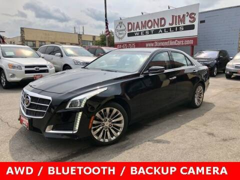 2014 Cadillac CTS for sale at Diamond Jim's West Allis in West Allis WI
