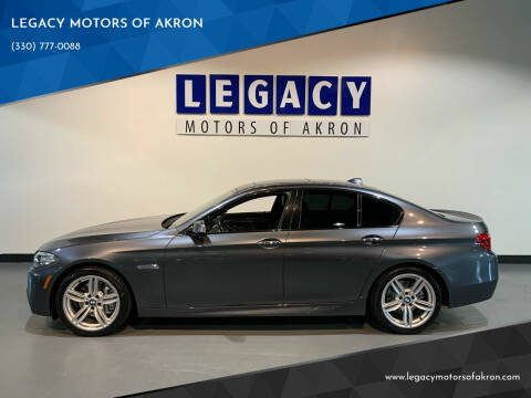 2016 BMW 5 Series for sale at LEGACY MOTORS OF AKRON in Akron OH