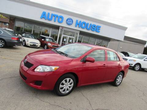 2010 Toyota Corolla for sale at Auto House Motors in Downers Grove IL