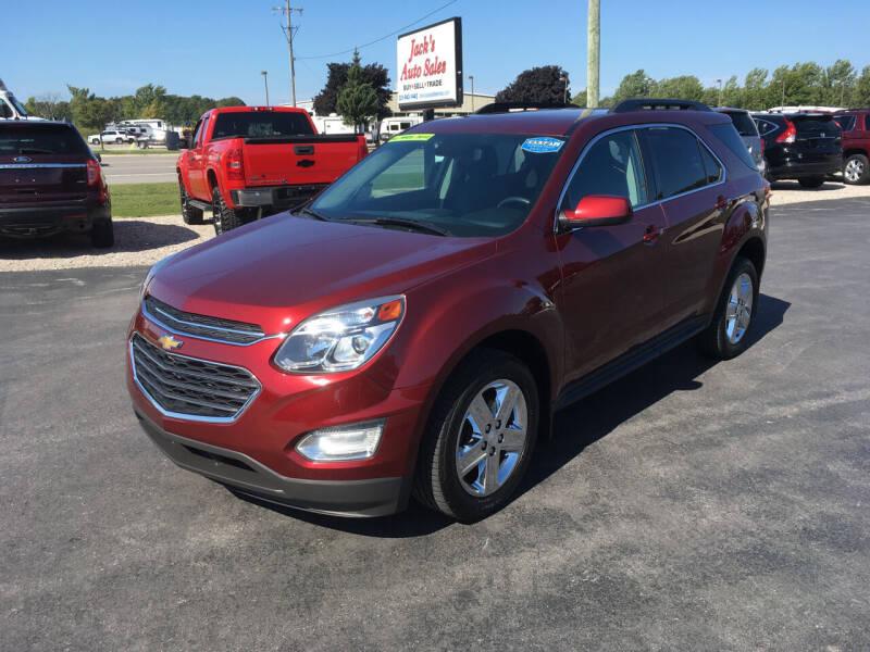 2016 Chevrolet Equinox for sale at JACK'S AUTO SALES in Traverse City MI