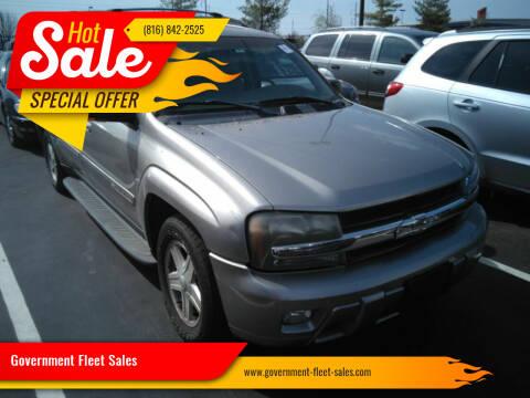2002 Chevrolet TrailBlazer for sale at Government Fleet Sales in Kansas City MO