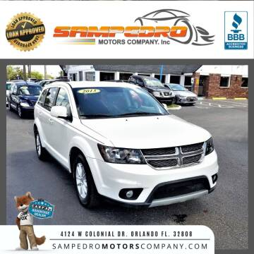 2013 Dodge Journey for sale at SAMPEDRO MOTORS COMPANY INC in Orlando FL