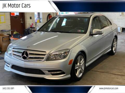 2011 Mercedes-Benz C-Class for sale at JK Motor Cars in Pittsburgh PA