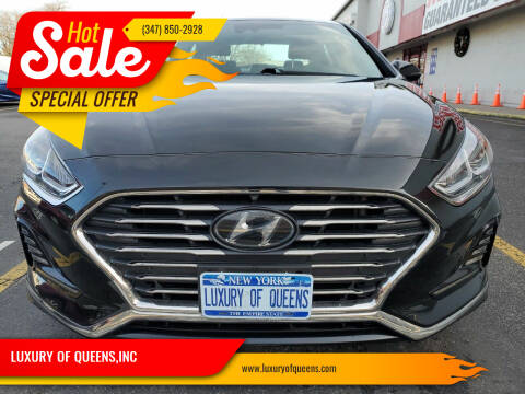 2018 Hyundai Sonata for sale at LUXURY OF QUEENS,INC in Long Island City NY