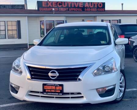 2013 Nissan Altima for sale at Executive Auto in Winchester VA