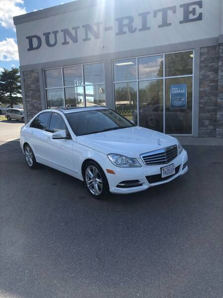2013 Mercedes-Benz C-Class for sale at Dunn-Rite Auto Group in Kilmarnock VA