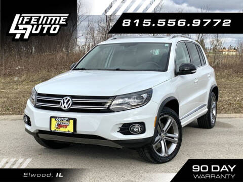 2017 Volkswagen Tiguan for sale at Lifetime Auto in Elwood IL