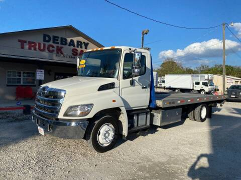 2014 Hino 268 ROLLBACK for sale at DEBARY TRUCK SALES in Sanford FL