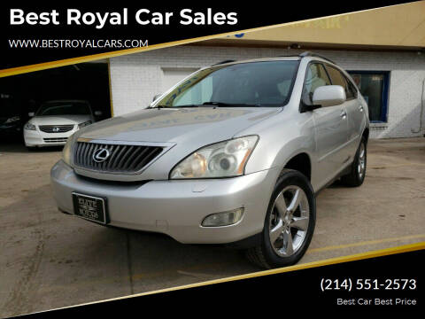 2008 Lexus RX 350 for sale at Best Royal Car Sales in Dallas TX