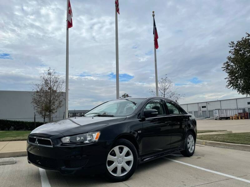 2015 Mitsubishi Lancer for sale at TWIN CITY MOTORS in Houston TX