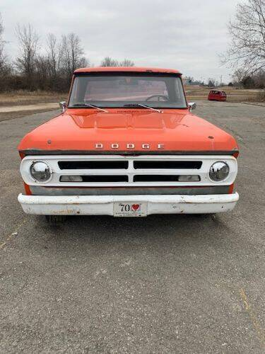 1971 Dodge D100 Pickup for sale at Haggle Me Classics in Hobart IN