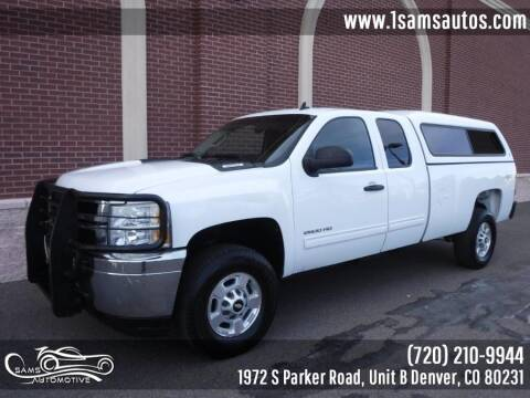 2011 Chevrolet Silverado 2500HD for sale at SAM'S AUTOMOTIVE in Denver CO