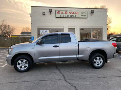 2007 Toyota Tundra for sale at C & S SALES in Belton MO