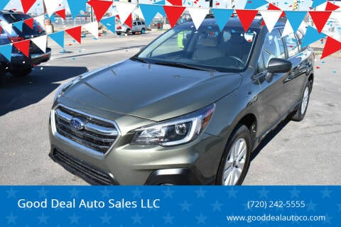 2018 Subaru Outback for sale at Good Deal Auto Sales LLC in Denver CO