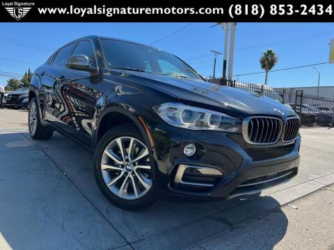 2017 BMW X6 for sale at Loyal Signature Motors Inc. in Van Nuys CA
