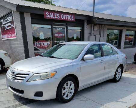 2010 Toyota Camry for sale at Fletcher Auto Sales in Augusta GA