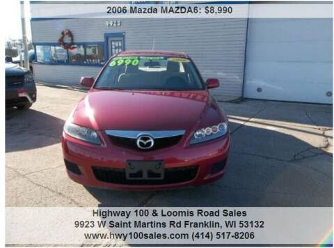 2006 Mazda MAZDA6 for sale at Highway 100 & Loomis Road Sales in Franklin WI