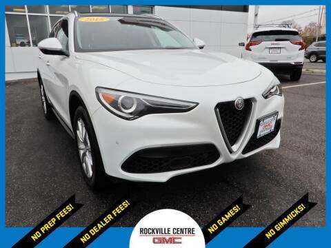 2018 Alfa Romeo Stelvio for sale at Rockville Centre GMC in Rockville Centre NY