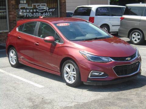 2017 Chevrolet Cruze for sale at AutoStar Norcross in Norcross GA