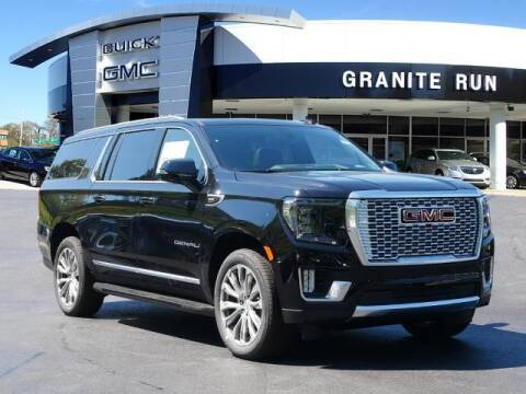 2021 GMC Yukon XL for sale at GRANITE RUN PRE OWNED CAR AND TRUCK OUTLET in Media PA