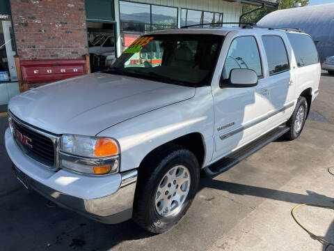 2001 GMC Yukon XL for sale at Low Auto Sales in Sedro Woolley WA