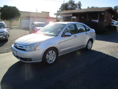 2011 Ford Focus for sale at Manzanita Car Sales in Gridley CA