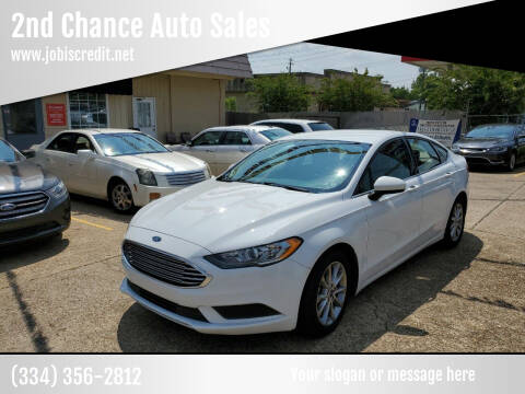 2017 Ford Fusion for sale at 2nd Chance Auto Sales in Montgomery AL