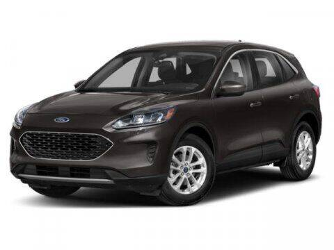 2021 Ford Escape for sale at Hawk Ford of St. Charles in St Charles IL