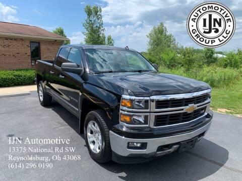 2014 Chevrolet Silverado 1500 for sale at IJN Automotive Group LLC in Reynoldsburg OH