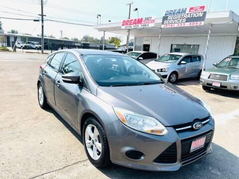 2013 Ford Focus for sale at Dream Motors in Sacramento CA