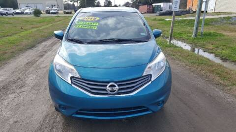 2015 Nissan Versa Note for sale at Auto Guarantee, LLC in Eunice LA