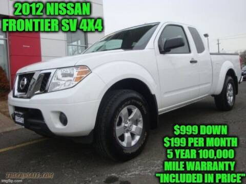 2012 Nissan Frontier for sale at D&D Auto Sales, LLC in Rowley MA