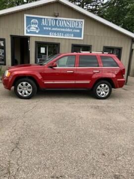 2010 Jeep Grand Cherokee for sale at Auto Consider Inc. in Grand Rapids MI