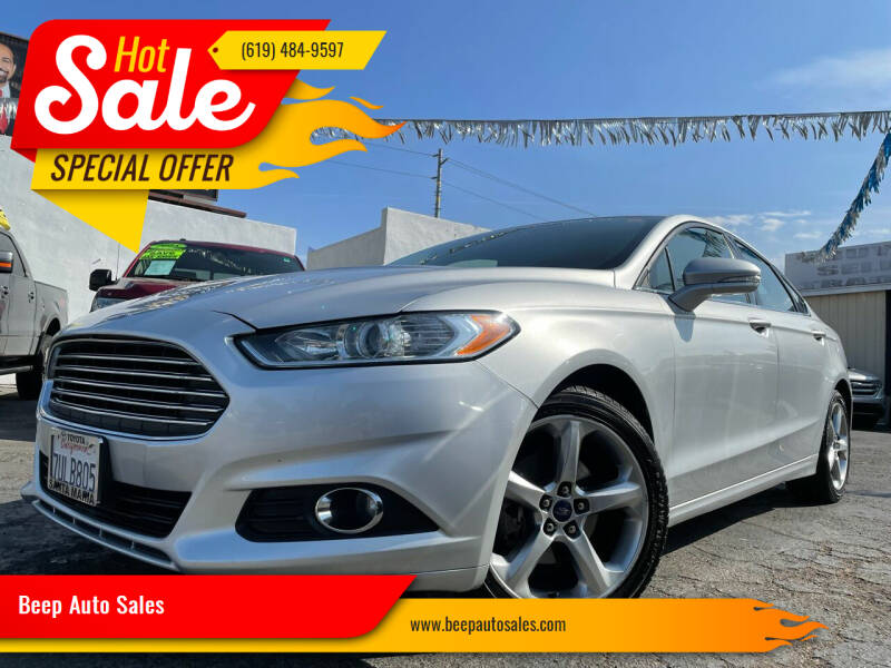 2016 Ford Fusion for sale at Beep Auto Sales in National City CA