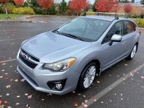 2012 Subaru Impreza for sale at Washington Auto Loan House in Seattle WA