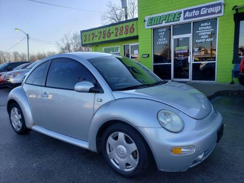 2002 Volkswagen New Beetle for sale at Empire Auto Group in Indianapolis IN
