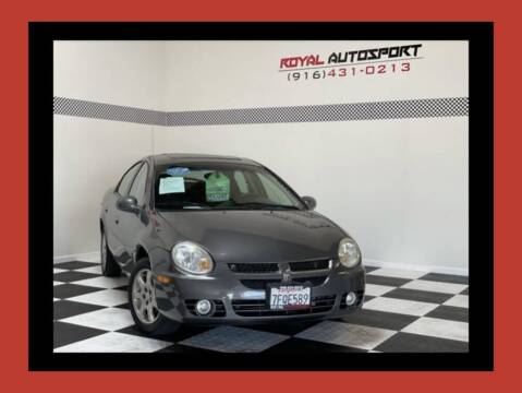 2005 Dodge Neon for sale at Royal AutoSport in Sacramento CA