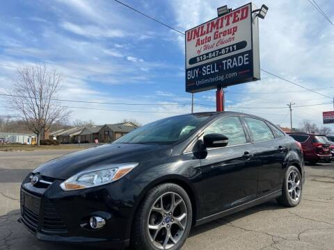 2014 Ford Focus for sale at Unlimited Auto Group in West Chester OH
