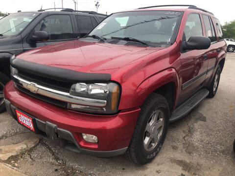 2002 Chevrolet TrailBlazer for sale at Sonny Gerber Auto Sales in Omaha NE