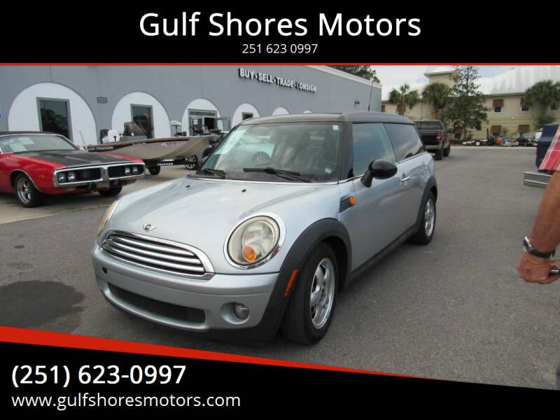 2009 MINI Cooper Clubman for sale at Gulf Shores Motors in Gulf Shores AL