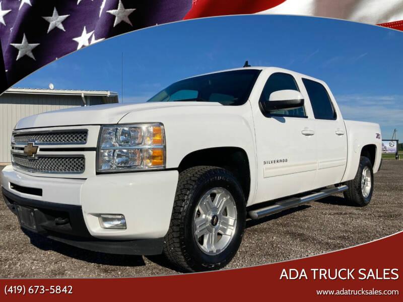 2013 Chevrolet Silverado 1500 for sale at Ada Truck Sales in Ada OH