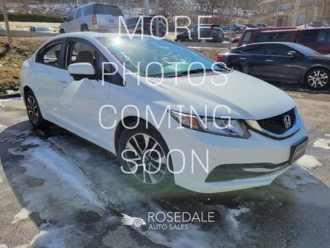 2014 Honda Civic for sale at Rosedale Auto Sales Incorporated in Kansas City KS