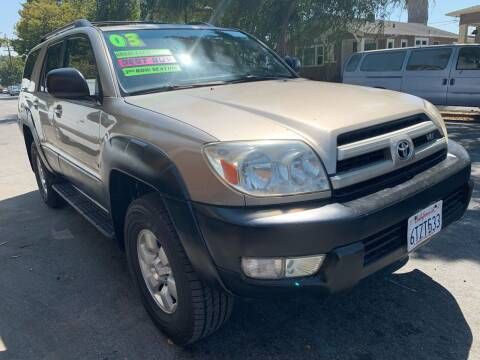 2003 Toyota 4Runner for sale at Bay Areas Finest in San Jose CA