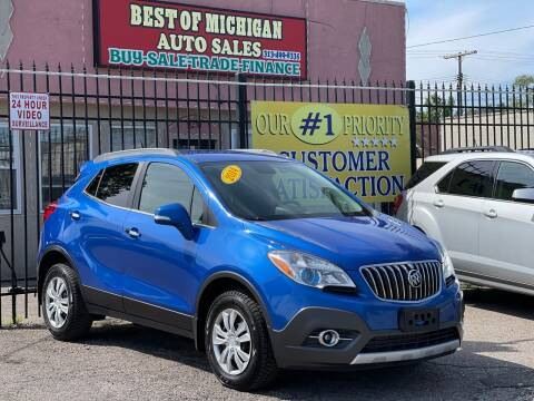 2014 Buick Encore for sale at Best of Michigan Auto Sales in Detroit MI