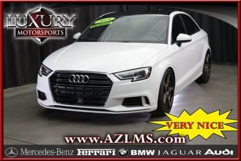 2018 Audi A3 for sale at Luxury Motorsports in Phoenix AZ