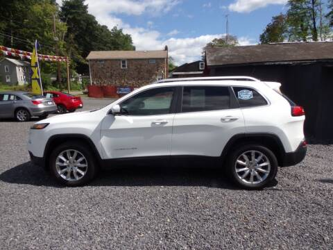 2014 Jeep Cherokee for sale at RJ McGlynn Auto Exchange in West Nanticoke PA