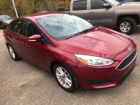 2017 Ford Focus for sale at Matt Jones Preowned Auto in Wheeling WV